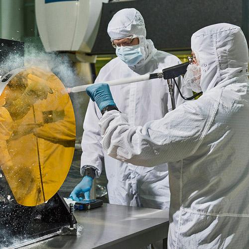 Nettoyage cryogénique, économique et écologique